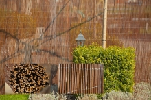 van Kempen Houthandel - tuinafscheiding wilgenrollen