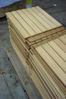 Van Kempen Houthandel - houten terrastegels